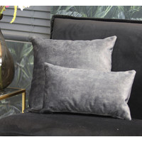 Pillow Anna Anthracite 45 x 45 cm