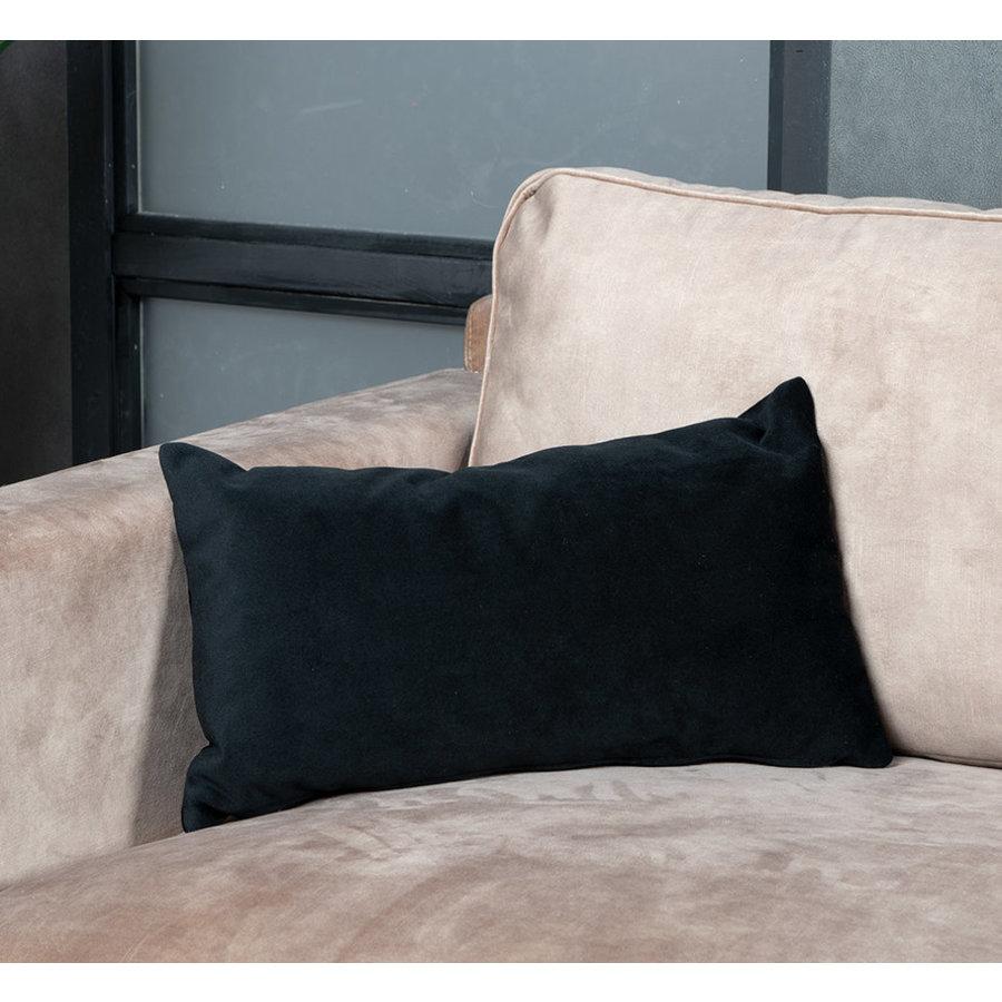 Pillow Anna Black 25 x 45 cm