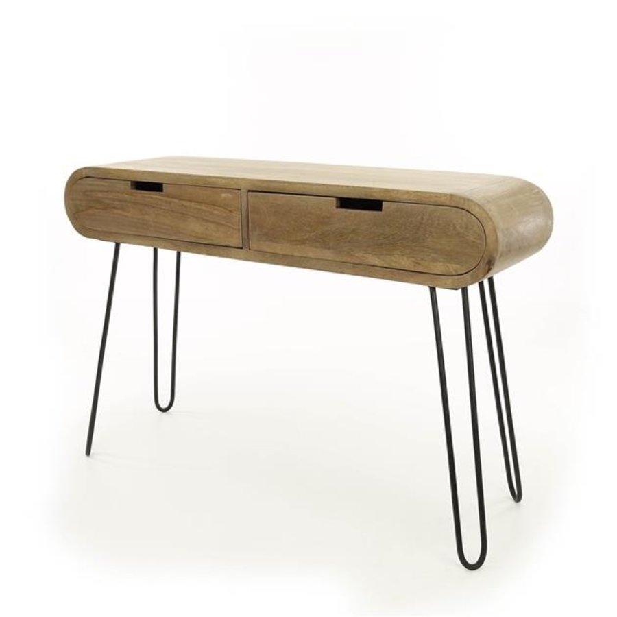 Industrial Side Board Peplow Solid Mango Wood