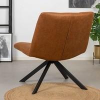 Industrial Chair Eevi Cognac