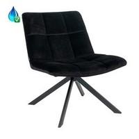 Armchair Eevi Black Velvet