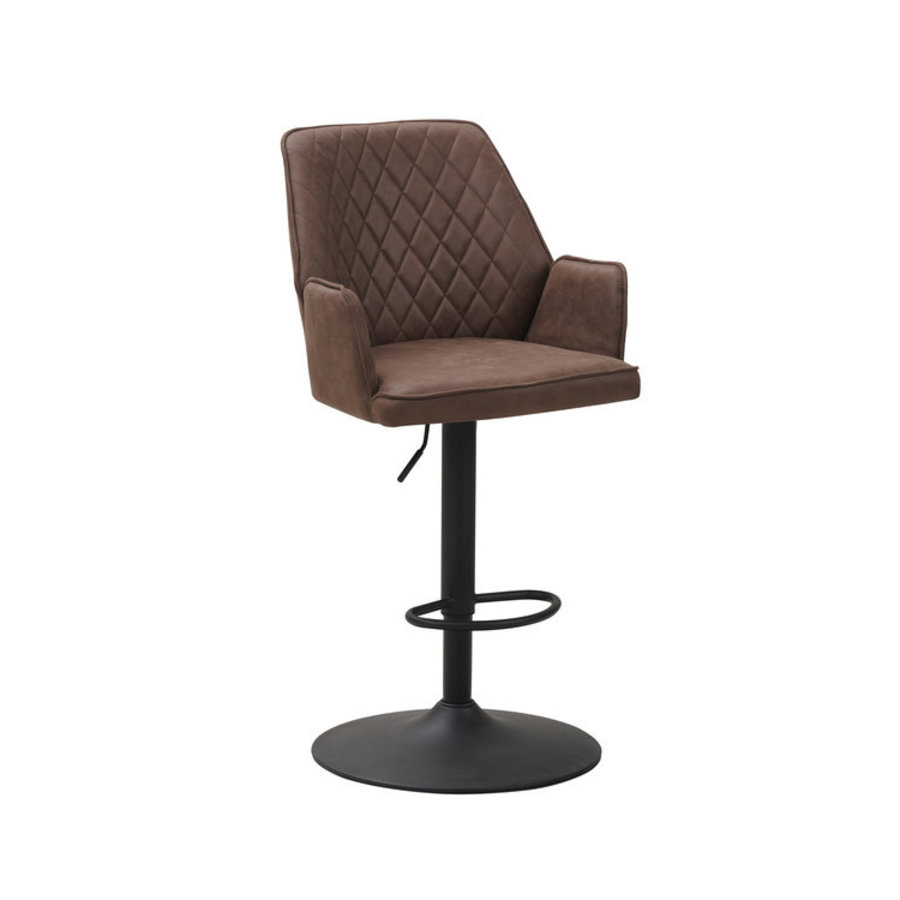 Industrial Barstool Donny Taupe
