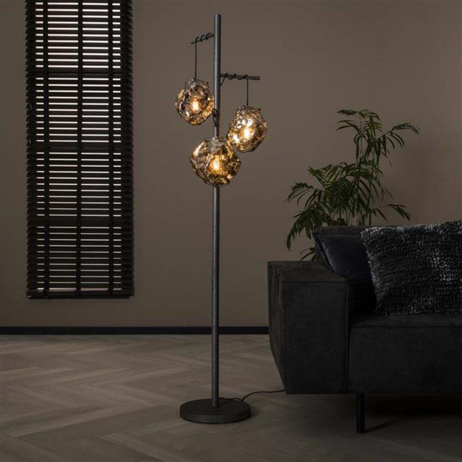 Modern Floor Lamp  Jade 3L rock