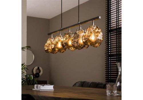 Modern Ceiling Light Jade 5L rock