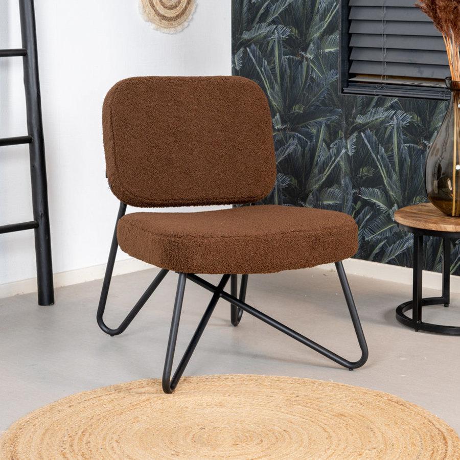 Teddy armchair Julia Brown