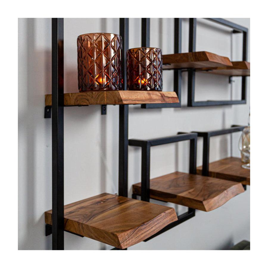 Industrial Wall shelf June - set of 5
