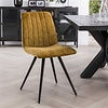 Velvet dining chair Zoey Gold