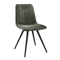 Velvet dining chair Zoey Green