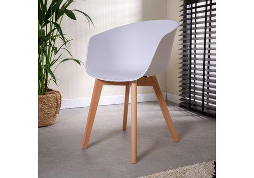 Modern Dining Chair Herning White