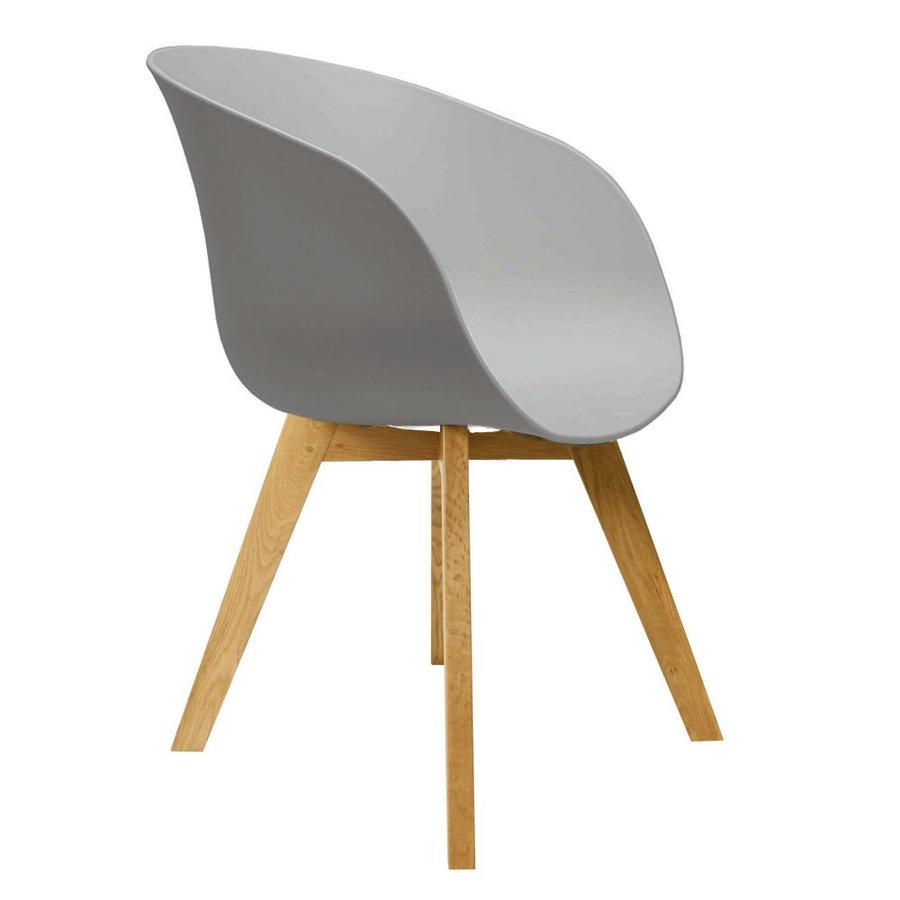 Modern Dining Chair Herning Grey
