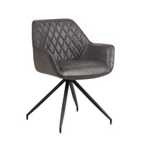 Industrial Dining chair Gian Antracite