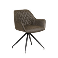 Industrial Dining chair Gian Green