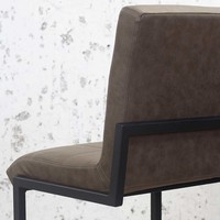 Industrial Bar Stool Hoxton Taupe