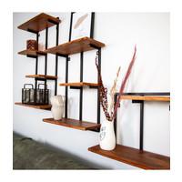 Industrial Wall shelf Lois - set of 3
