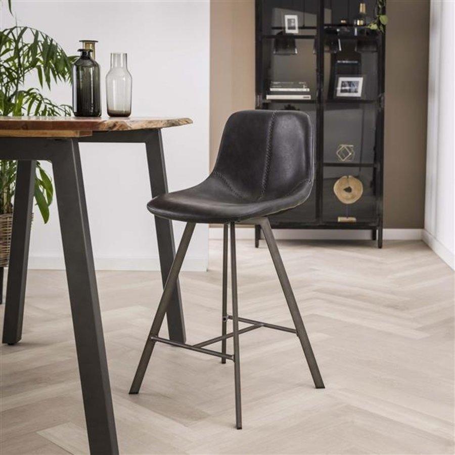 Modern bar stool Kendal Taupe