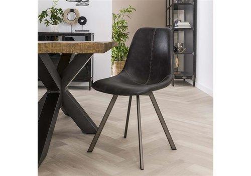 Modern dining chair Kendal Black