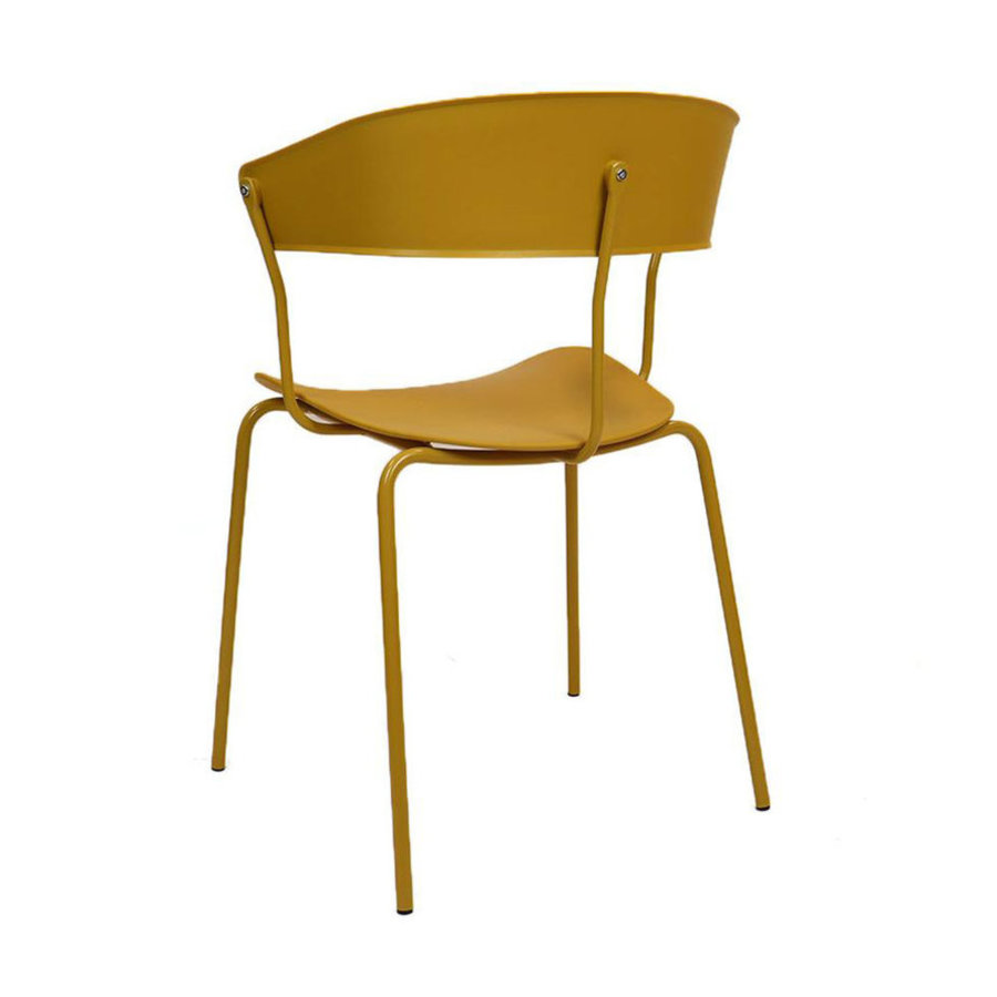 Modern Dining Chair Olea Yellow