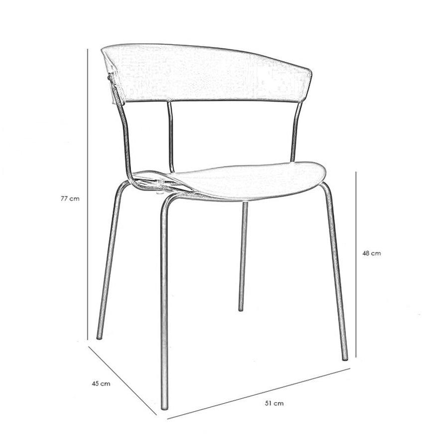 Modern Dining Chair Olea Black