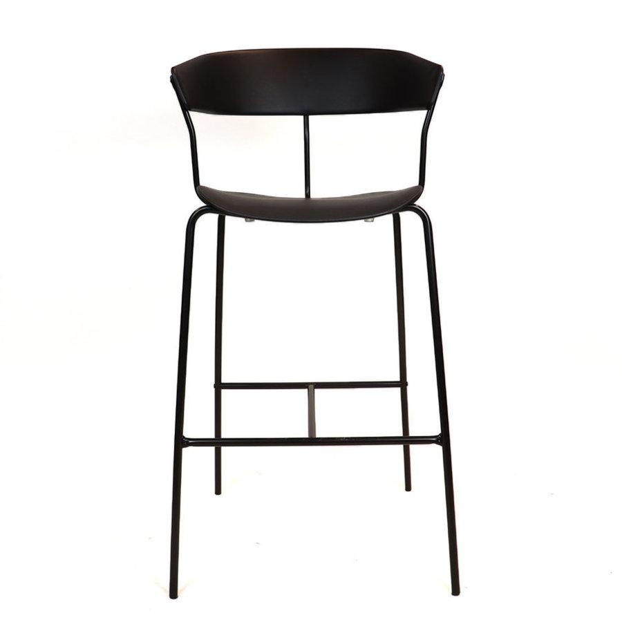 Modern Bar Stool Olea Black