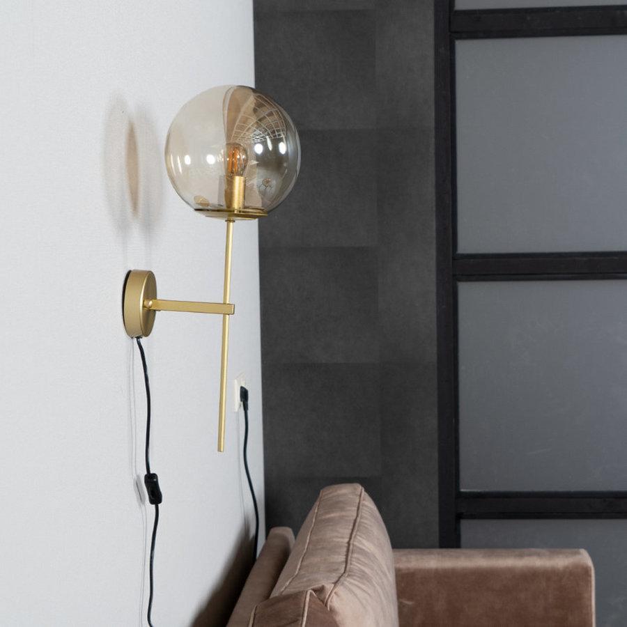 Modern Wall Lamp Up Amber