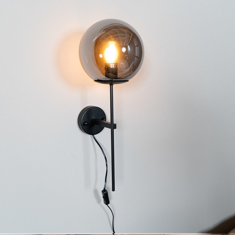 Modern Wall Lamp Up Smoke