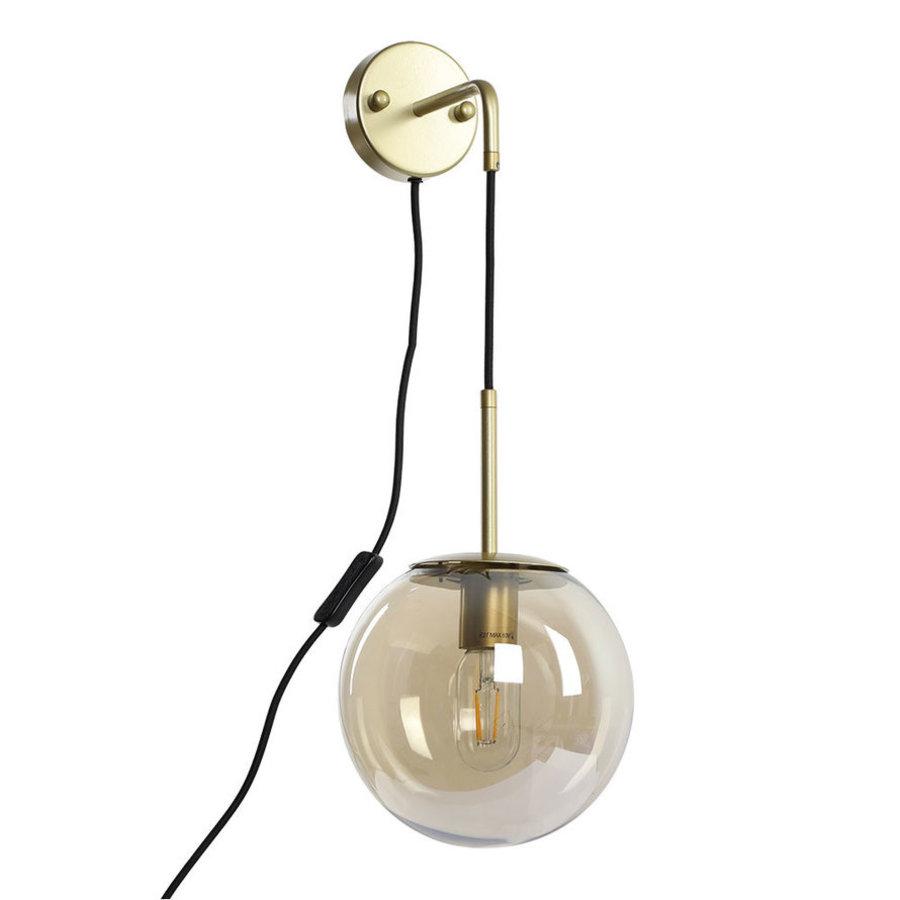 Modern Wall Lamp Else Amber