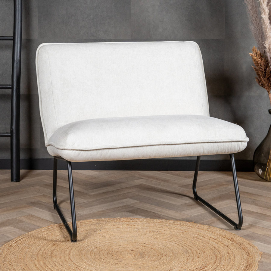 Modern Armchair Merle White