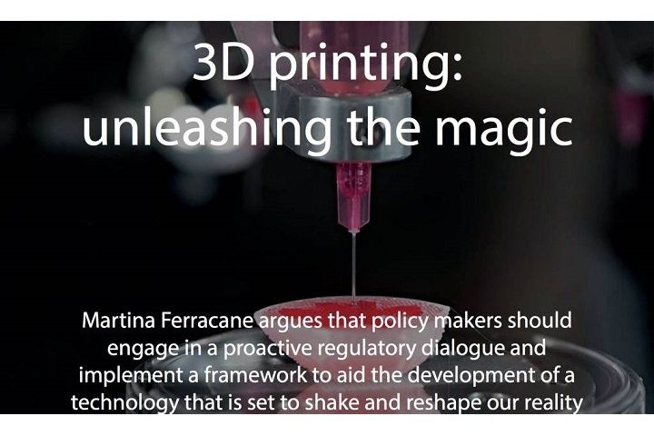 Our CEO writes about 3D printing for World Commerce Review