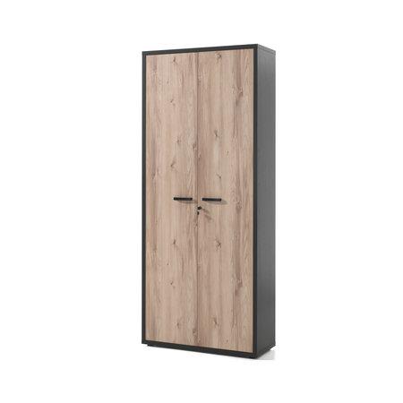 Hoge kast met volle deuren Pronto by Neyt