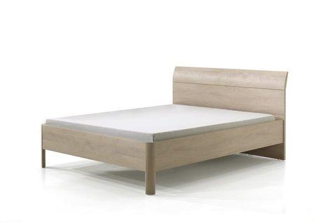 Bed Delia river eik/wit dubbel bed