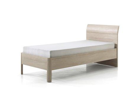 Bed Delia 090x200 river eik/wit