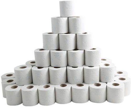 Toiletpapier en zeep voor elk schoon toilet