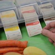 Daymark  HACCP stickers voor in de professionele