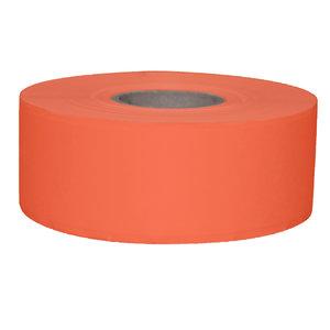Daymark Stickerrol 2-lijnspist vol. oplosb. oranje 750/rol