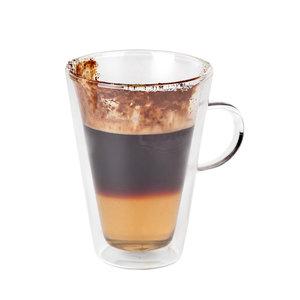 Non Food Company Coffeepoint Macchiato-/theeglas dubbelwandig 280 ml