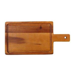 Non Food Company Acacia plank met handvat klein 35 x 18 cm