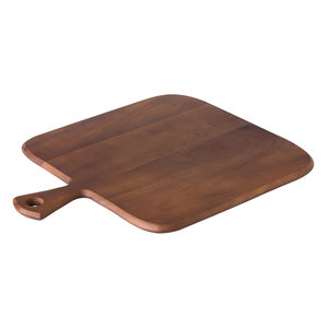 Non Food Company Acacia rechthoekig pizzaplateau met handvat