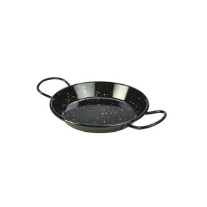Non Food Company Zwart emaille pannetje paella 15 cm