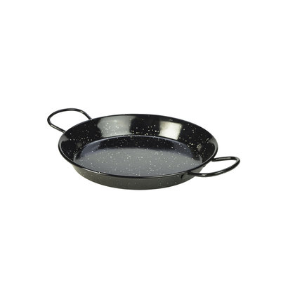 Non Food Company Zwart emaille pannetje paella 26 cm