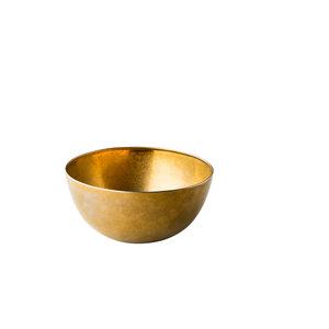 Non Food Company Presentatiepoint Vintage goud kom Ø20 cm