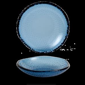 Churchill Isla Organic Glass Trace Bowl 17cm