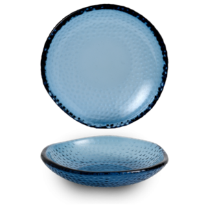 Churchill Isla Organic Glass Trace Bowl 21cm