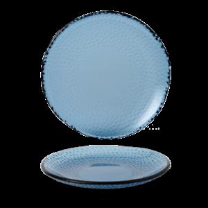 Churchill Servies Isla Organic Glass Trace Plate 22.5cm