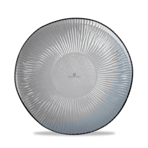 Churchill Servies Dusk Glass Round Bamboo Plate 21.5cm