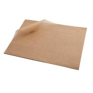 "Non Food Company Presentatiepoint Vetvrij papier ""Brown"" 25x20cm 1000-pak"