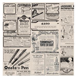 "Non Food Company Presentatiepoint Vetvrij papier ""Newspaper brown"" 34x28cm 1000-pak"