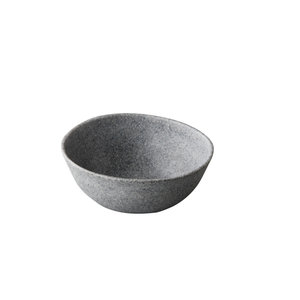 Non Food Company Melaminepoint Pebble grey organisch kom 20,5 cm