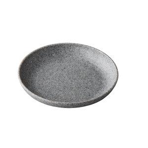 Non Food Company Melaminepoint Pebble grey organisch diep bord 21,5 cm