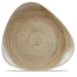 "Churchill Stonecast Patina Antique Taupe Lotus Plate 12"" Box 6"