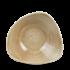"Churchill Stonecast Patina Antique Taupe Lotus Bowl 9.25"" Box 12"